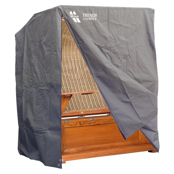 Strandkorb Schutzhülle für 2½ Sitzer King Size, Dunkelgrau