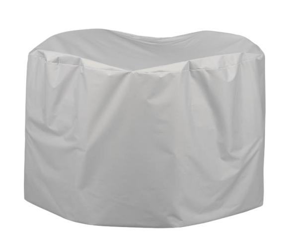 Kettler Abdeckhaube Sitzgruppe Tisch Ø120 cm + 4 Klappsessel
