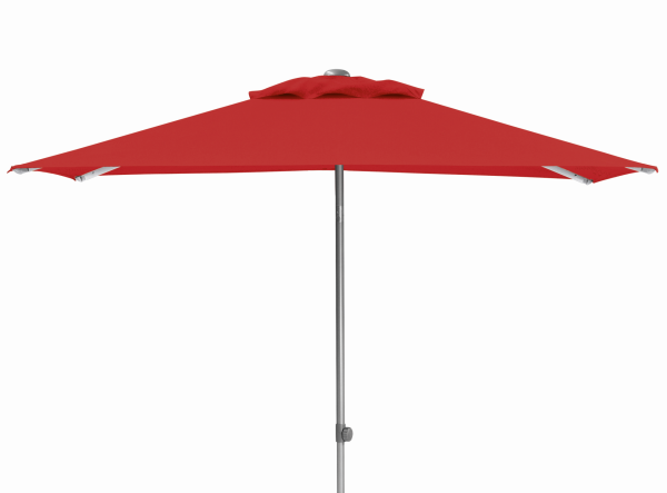 EASY Push Schirm, 210x150 cm, UPF 50+, mit PU-Beschichtung rot