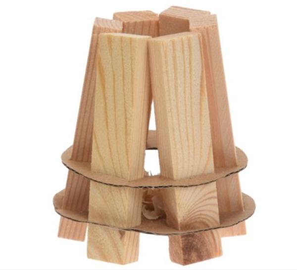 Grillanzünder aus Holz Fire Starter Wood