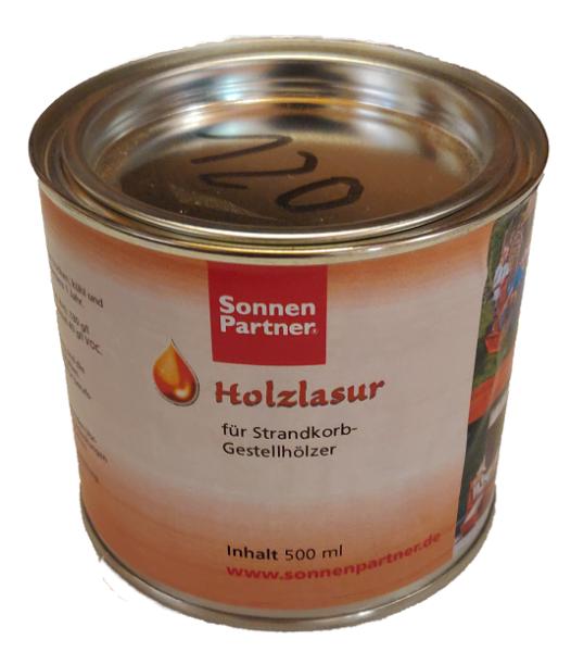 Holzlasur 500 ml für R 50 Plus/ R 250/255 Plus und Basic Körbe farblos