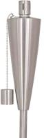 Öllampe Fanny, Edelstahl, Durchmesser 7,2 x 115 cm, silber