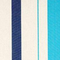 Caribeña - Klassische Einzel-Hängematte aus Baumwolle Farbe aqua