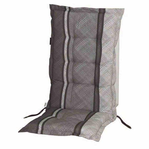 Verry grau, Auflage zu Sessel hoch 50% Baumwolle / 50% Polyester