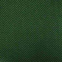 Aster Sitzkissen/Hockerauflage Dessin Fish Bone smaragd, 100 % recyceltes Polyester