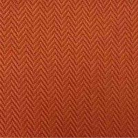 Aster Sitzkissen/Hockerauflage Dessin Fish Bone terrakotta, 100 % recyceltes Polyester