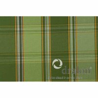 Tarent Auflage zu Sessel, 100 cm, Karo grün Bezug aus 100% Acryl-Dralon, Dessin 253