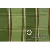 Tarent Auflage zu Sessel, 123 cm, Karo grün Bezug...