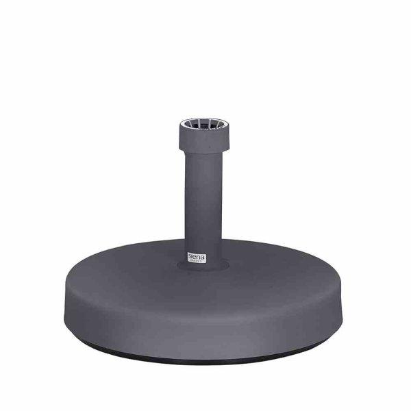 Schirmständer Fill Foot 25kg, anthrazit Kunststoffrohr 21-54 mm