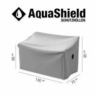 AquaShield Bankhülle 2er 130x75xH65/85cm hellgrau