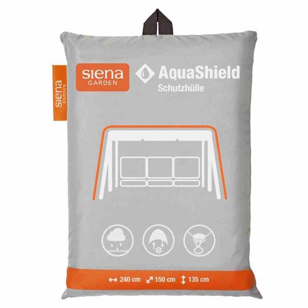 AquaShield Schaukelhülle 240x150xH135 cm hellgrau, 100% Polyester