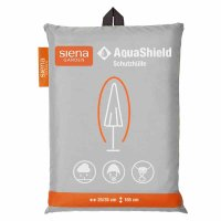 AquaShield Schirmhülle 25/35x165 cm hellgrau, 100%...