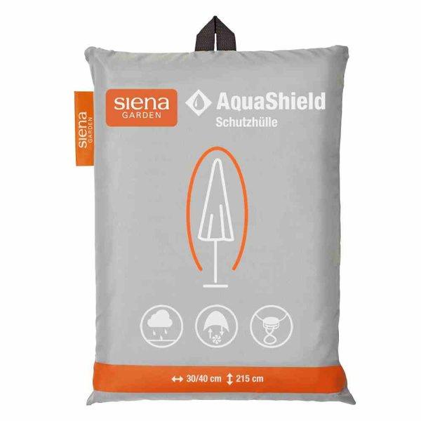 AquaShield Schirmhülle 30/40xH215 cm hellgrau, 100% Polyester