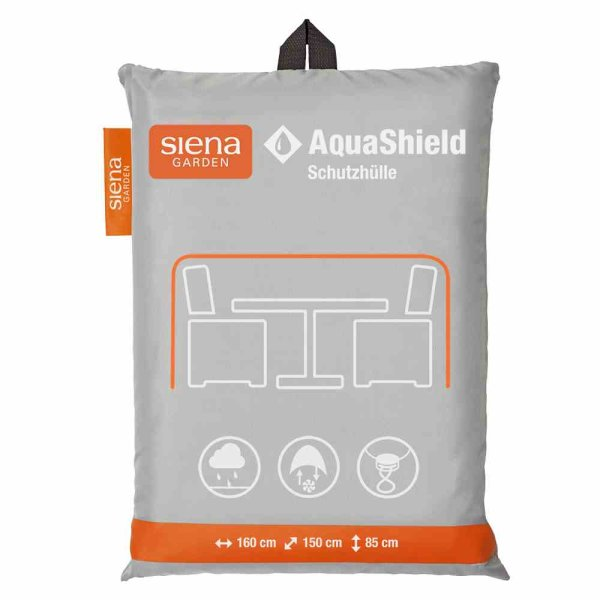 AquaShield Sitzgruppenhülle 160x150xH85 cm hellgrau, 100% Polyester