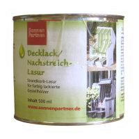 Decklack / Nachstreich-Lasur Blau