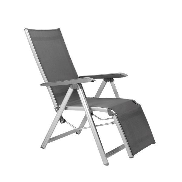 BASIC PLUS Relaxsessel silber/anthrazit