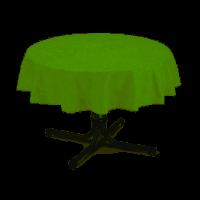 Tischdecke rund 130cm grün-marmoriert