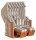 """Gartenstrandkorb """"Rustikal 250 PLUS"""" 2-Sitzer, Halbliegemodell  Kunststoffgeflecht antik-weiß"""