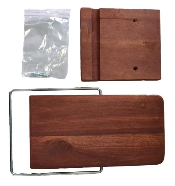 2. Seitentisch, klappbar, Akazienholz  für Modell Rustikal 285 Z Sun Edition