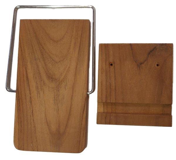2. Seitentisch Teakholz natur, klappbar  für Rustikal 34 Z, 305 Z, 405 Z  jeweils in Teak