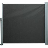 Seitenmarkise, silbergrau / anthrazit 300 x 160cm