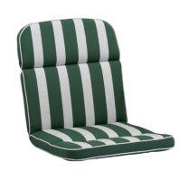 KETTtex Auflage NL 100x50x7cm, grün gestreift,...